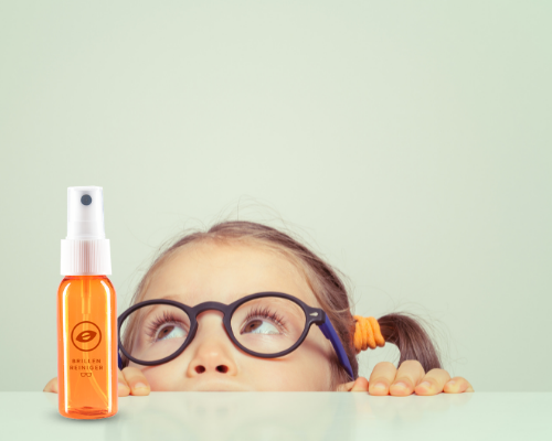 Seesoo optics for kids, eco friendly and biodegradable cleaning to support health of kids