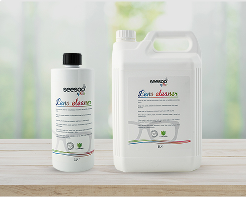 SeeSoo optics lens cleaner fluid is 100% natural and eco friendly, made out of plants and oils